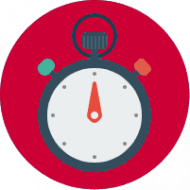 Icon of stopwatch